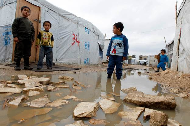 Syrian refugees have overwhelmed much of Lebanon's services and structures