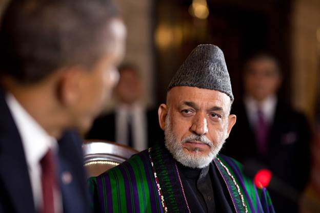 President Karzai found himself in a very complex situation